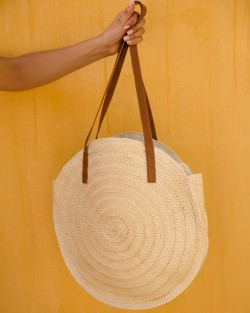 ROUND BIG SHOULDER BAG