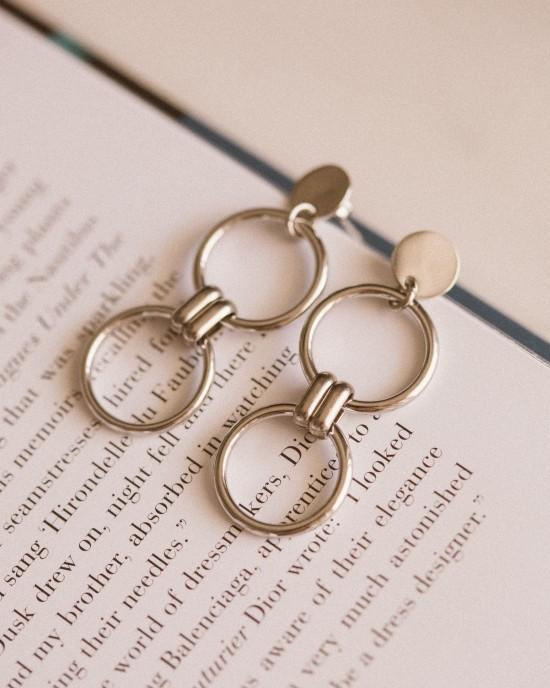 Viola Earrings Silver