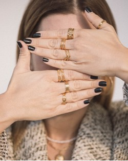 Amelie Ring Gold