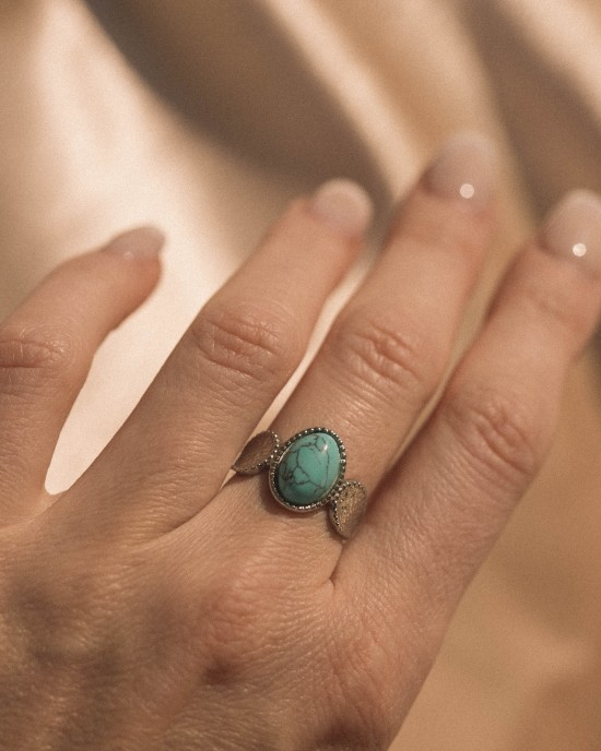 Agata Ring Silver