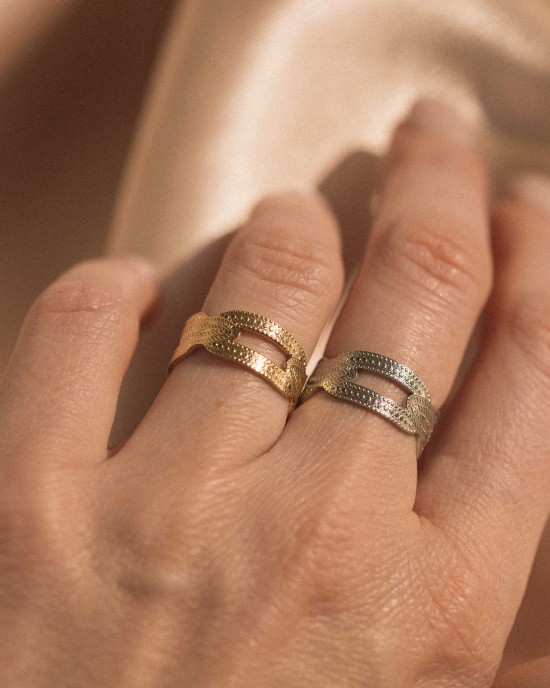 Electra Ring Silver